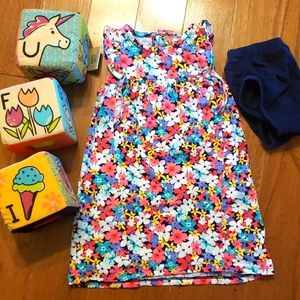 Carters 18 month tank dress and bloomers